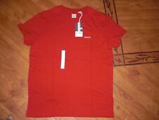 BNWT MENS JACK WILLS RED AYLEFORD T-SHIRT SIZE L.RRP £25.95