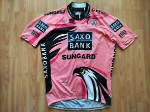 Alberto Contador Saxo Bank 2011 Giro d'Italia Winner Team jersey XXL VERY RARE !