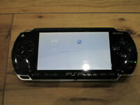 Sony PSP 1000 Console Piano Black Japan m965