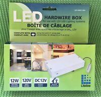 Liteline LED-HWB12-WH Non-Dimming Driver 12V - Indoor/Outdoor
