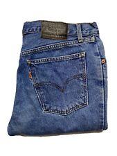 Vintage Levi's 631 Womens Jeans Size 34 x 32 Orange Tab High Rise Straight Leg