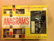 Transogram Brand Anagrams Game Plus Six Other Word Games Vintage Toy 1960's