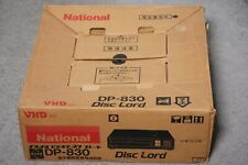 National DP-830 VHD Disc Player ~JAPAN BOXED/COMPLETE/WORKING~ 3D PC MSX Victor