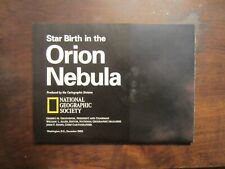 """""""Star Birth in the Orion Nebula"""" wall poster,2-Sided,27""""x20"""" from NatGeo magazne"""