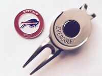 NFL Buffalo Bills Golf Ball Marker and Magnetic Divot Tool