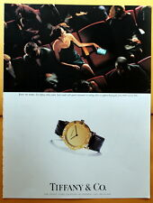 1999 Magazine Print Ad for  TIFFANY & CO Atlas watch