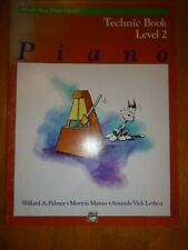 Alfred's Basic Piano Library: Technic Book Level 2
