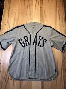 Authentic Josh Gibson Homestead Grays Jersey #20 - Ebbets Field Flannels - XL