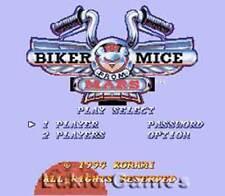 Biker Mice From Mars - Rare SNES Super Nintendo Game