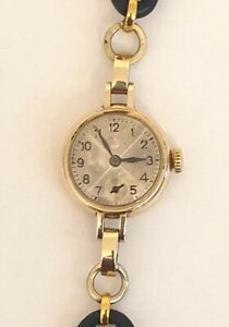 Ladies Vintage Rolex 9ct Gold Cocktail Dress Watch - £625