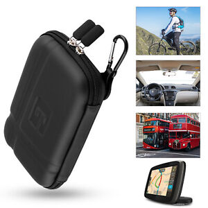 5 inch Car GPS Carrying Case Cover Hard Shell Protective Pouch Storage Skin Bag