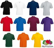Fruit of the Loom Men's Regular Polycotton Casual Shirts & Tops