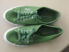 Superga 43 9 zapatos caballero zapatillas de tenis 3 usado alguna vez Italy zapatos de playa
