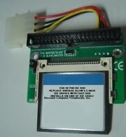 "1GB SSD Replace Vintage 3.5"" IDE Drives with this 40 PIN IDE SSD Card & Adapter"