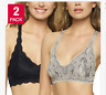 FELINA LACE BRA 2pc Pack Pick your size/color #931