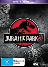 Jurassic Park Collection All 4 Movies inc Jurassic World BRAND NEW SEALED R4 DVD