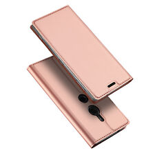For Sony Xperia Luxury Slim Flip Leather Case Card Stand Magnetic Wallet Cover
