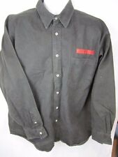 VTG MISSION IMPOSSIBLE Shirt Movie Promo Paramount Button down Long Sleeves XL