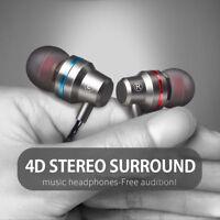 HIFI Super Bass Headset Type C In-Ear Earphone Stereo Earbud Headphone Wired Mic