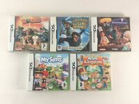 Nintendo DS / 3DS Game Bundle | 5 Games Included | Tested & Working | Mixed A5