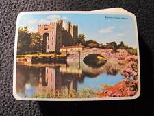 Vintage 1980's Pack of Souvenir John Hinde Playing Cards Bunratty Castle Ireland
