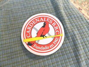 CARDENALES BILLIONAIRE BOYS CLUB SL Cardinals FUNDADO EN 1942 Sticker Decal RARE