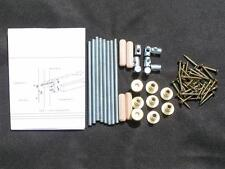 Bed fittings - screws and bolts - spare parts FREE POST