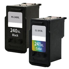 2PK Ink for Canon PG-240XL CL-241XL MG2120 MG2220 MG3120 MG3122 MG3200 MG3220