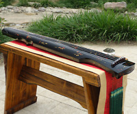 "48"" Professional Guqin Chinese 7-stringed Zither Instrument Fuxishizhongni 中国古琴"