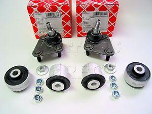 4 Front Wishbone Bushes & 2 Ball Joints  Audi TT Quattro & S3 2000>  OEM Quality