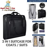 Carry On Garment Multi Pocket Bag Hanging Suit Carrier For Travel Business Trip
