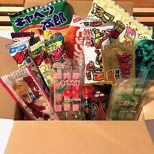 Japan Selected  Famous Dagashi Box Set, 19 pc, Japanese Snack, Mochi, Chocolate