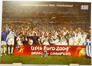 Griechenland + Fußball Europameister 2004 + Fan Big Card Edition A22 +