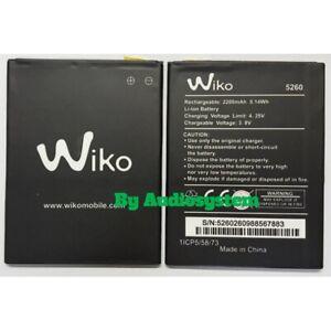 Batteria Pila Originale Wiko per Ridge Fab 4G Wiko Pulp Fab 4G 2820Mah 5260 5320