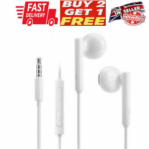 IN EAR 3.5mm  EARPHONES EXTRA BASS WITH MIC for Apple Xiaomi SAMSUNG HTC SONY