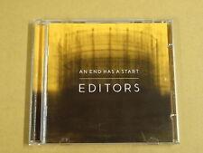 CD / EDITORS – AN END HAS A START