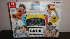 Nintendo Labo Toy-Con 04 VR Kit Switch goggles Family Children NEW