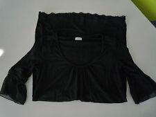 Figurbetonte Damenblusen, - tops & -shirts im Tuniken-Stil ohne Kragen