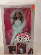 Vintage Mattel Magic Moves African- American Barbie NRFB - Rare 1985  No 2127