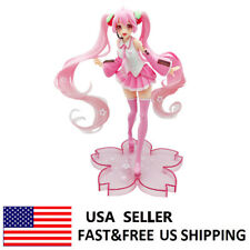 Hatsune Miku 2019 Sakura 8'' Anime Action Figure Collection Model Toys Kids Gift
