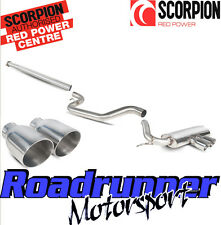 Scorpion Focus ST250 MK3 Hatch Exhaust Cat Back Sys Non Res Polish Tails SFDS071