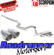 SCORPION FOCUS ST250 Hatch Di Scarico Cat Indietro Non Res SYS Lucidato Daytona sfds 071