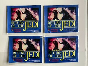 Panini Return Of The Jedi - 4 Unopened sticker packs