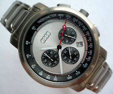 Audi RS Racing Quattro DTM Motorsport Sport Design Titanium Watch Chronograph