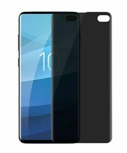 For Samsung Galaxy S10 - Tough Plastic Privacy Screen Protector