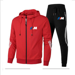 Men Tracksuit Long Sleeve Running Training Gym Fitness Sportswear Workout Casual