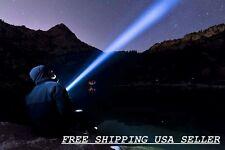 6000 Lumen LED Flashlight 4CREE XM-L Waterproof Sev light modes 10% off 2nd +