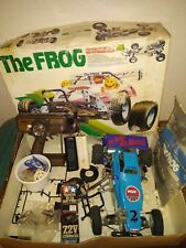 The Frog Vintage 1983 Tamiya 1/10 RC Car w/ lots of extras - parts or restore