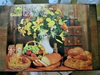 PUZZLE, GUILD, STILL LIFE, GOLDEN, 500 PIECES, U.S.A.
