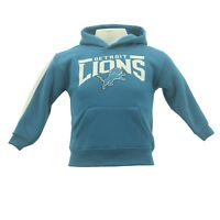 NFL Detroit Lions Kids Infant Toddler Football Hooded Sweatshirt New With Tags